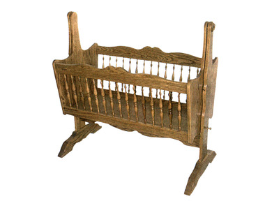 Old Fashioned Rocking Cradle